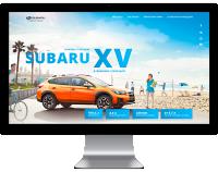 Landing page - Subaru XV