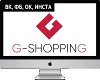 Ведение и оформление групп для g-shopping.ru