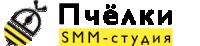 """Логотип SMM-студии """"Пчёлки"""""""