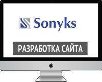 Сайт визитка для Sonyks.kz