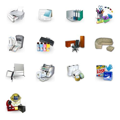 Иконки для сайта Бумажный мир