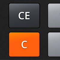 Калькулятор. Приложение с анимированным персонажем