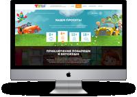 """Многостраничный сайт """"ToyRoy"""" (12 страниц)"""