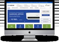 """Многостраничный сайт """"Nicas"""" (8 страниц)"""