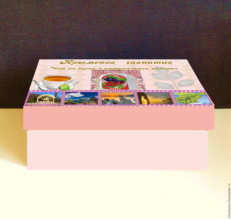 Дизайн подарочной-сувенирной коробки: с чаем и варением фото f_0465a590a38d254a.jpg