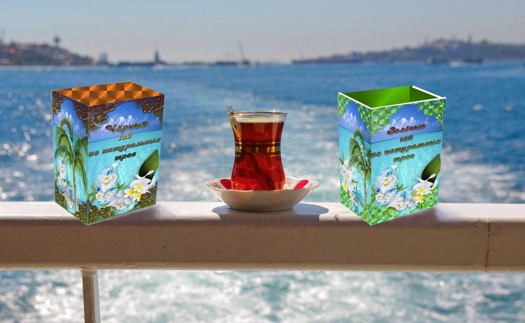 Дизайн коробки сувенирной  чай+парварда (подарочный набор) фото f_1775a61002172bfe.jpg