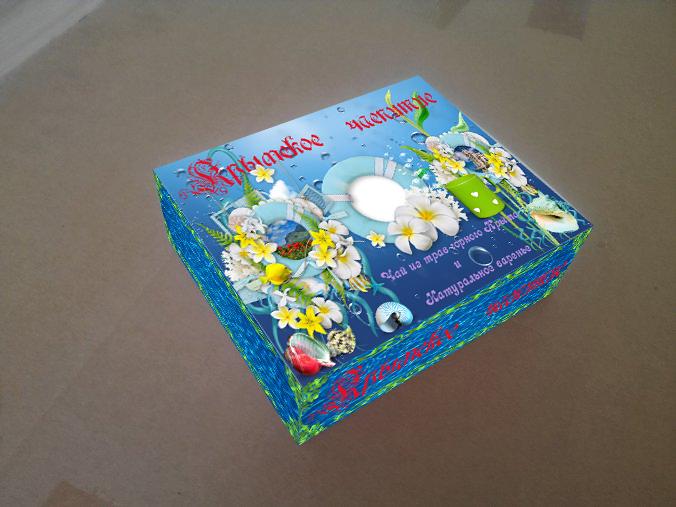 Дизайн подарочной-сувенирной коробки: с чаем и варением фото f_4405a601e233efae.jpg