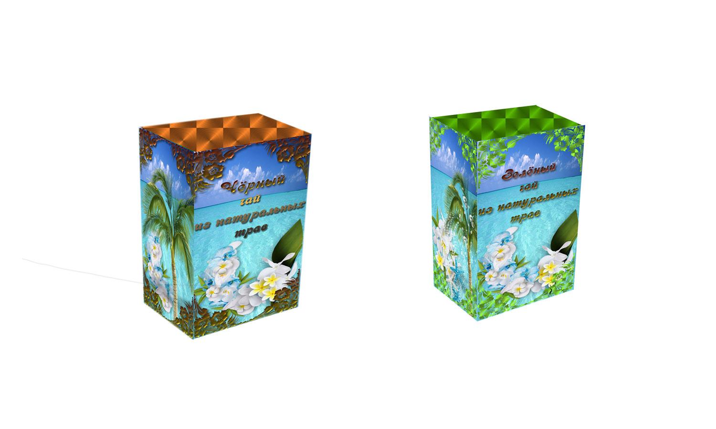 Дизайн коробки сувенирной  чай+парварда (подарочный набор) фото f_5495a6100366ca5e.jpg