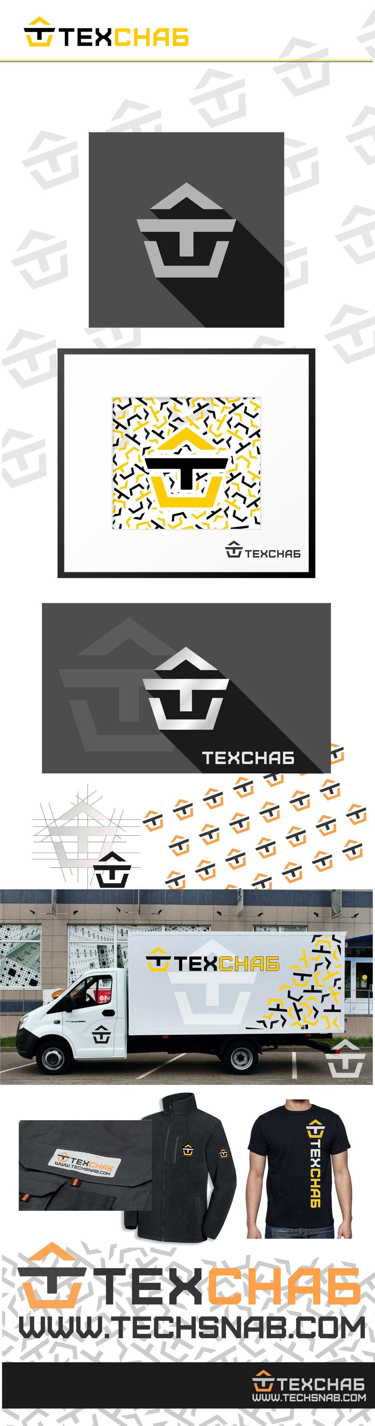 Разработка логотипа и фирм. стиля компании  ТЕХСНАБ фото f_3295b1cea31a5e10.jpg