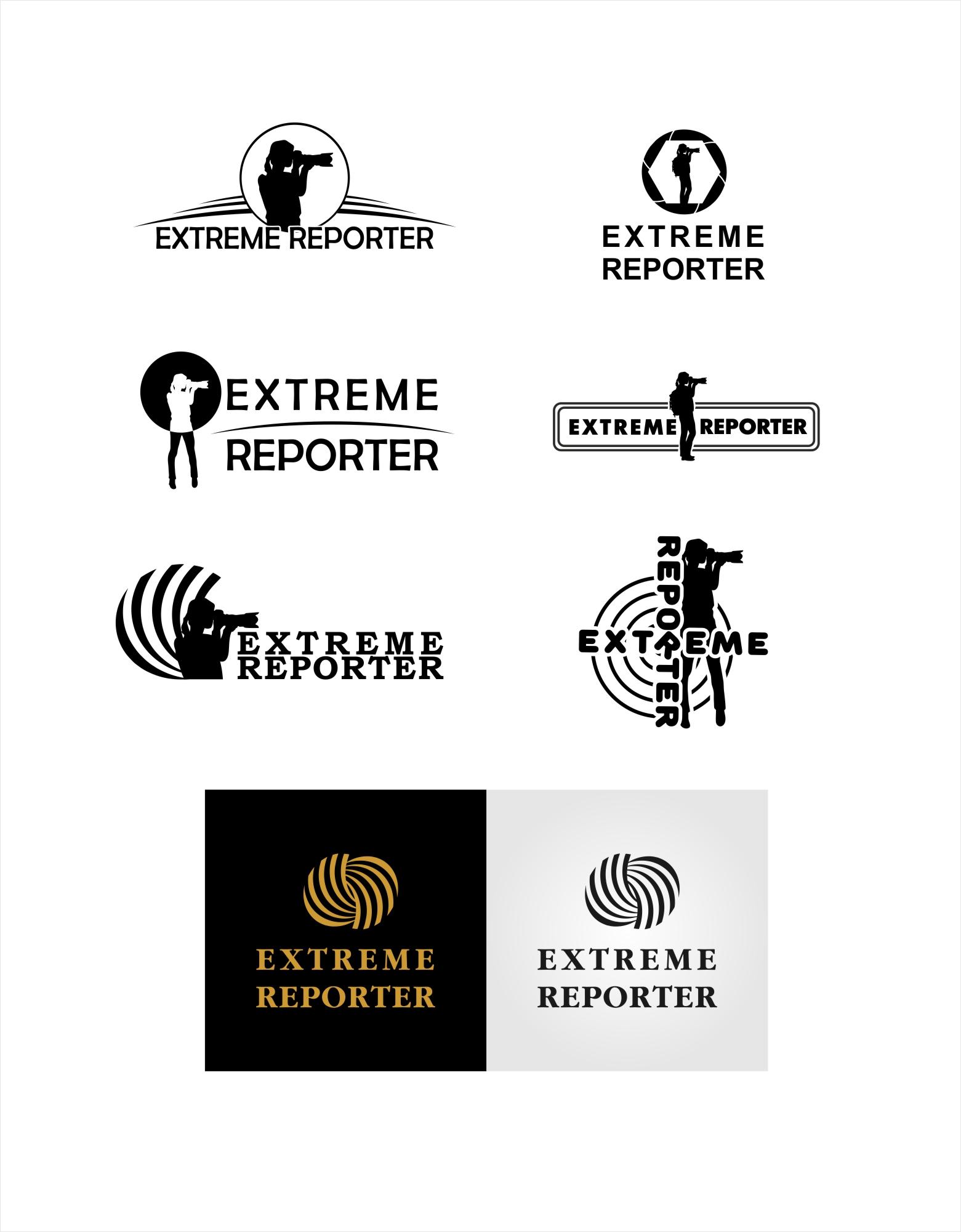 Логотип для экстрим фотографа.  фото f_6415a5392d4b8b3d.jpg