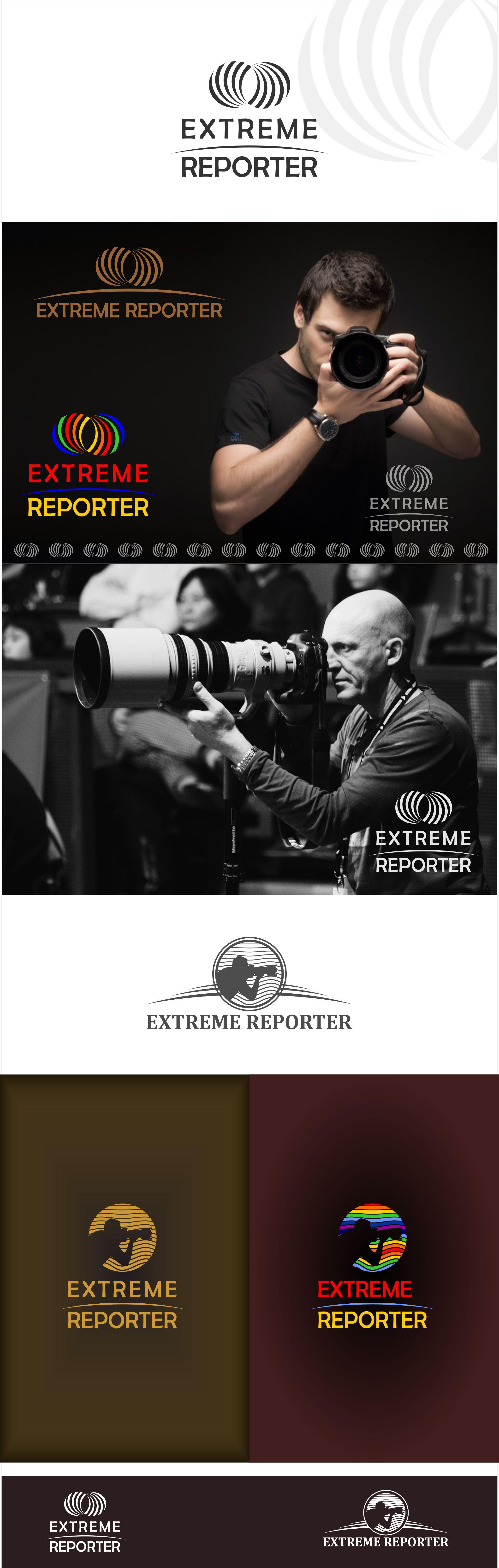 Логотип для экстрим фотографа.  фото f_6535a536d5c0587d.jpg