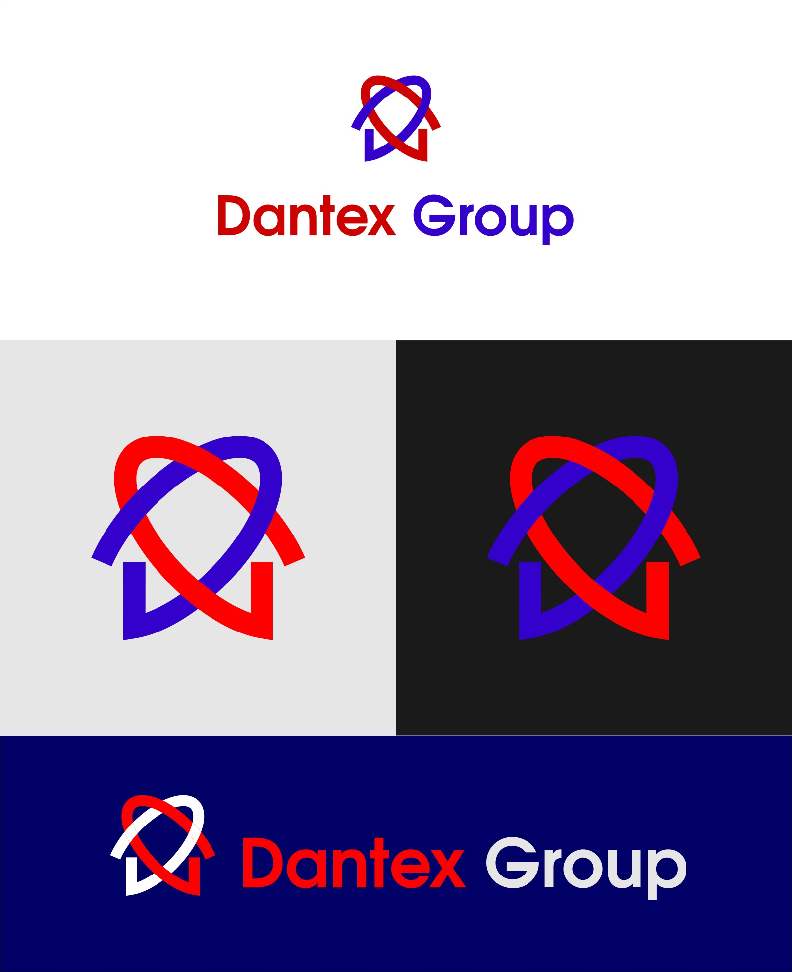 Конкурс на разработку логотипа для компании Dantex Group  фото f_7665c0fe388a924f.jpg