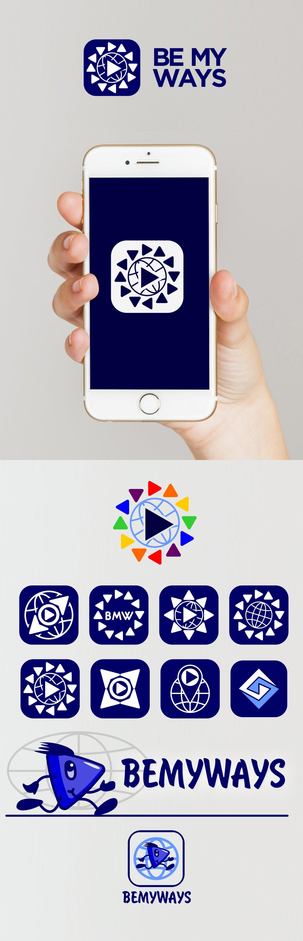Разработка логотипа и иконки для Travel Video Platform фото f_9625c3c51af865cc.jpg