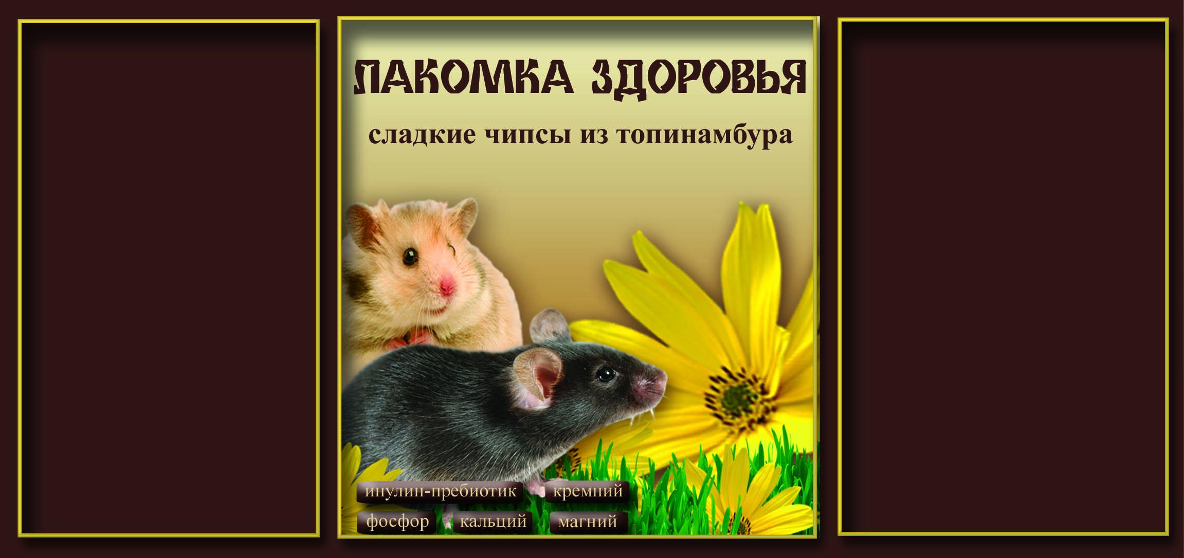 Дизайн этикетки на ПЭТ-банку лакомства для домашних грызунов фото f_35953aac557d82e8.jpg