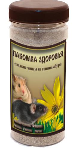 Дизайн этикетки на ПЭТ-банку лакомства для домашних грызунов фото f_45853aac653c0570.png
