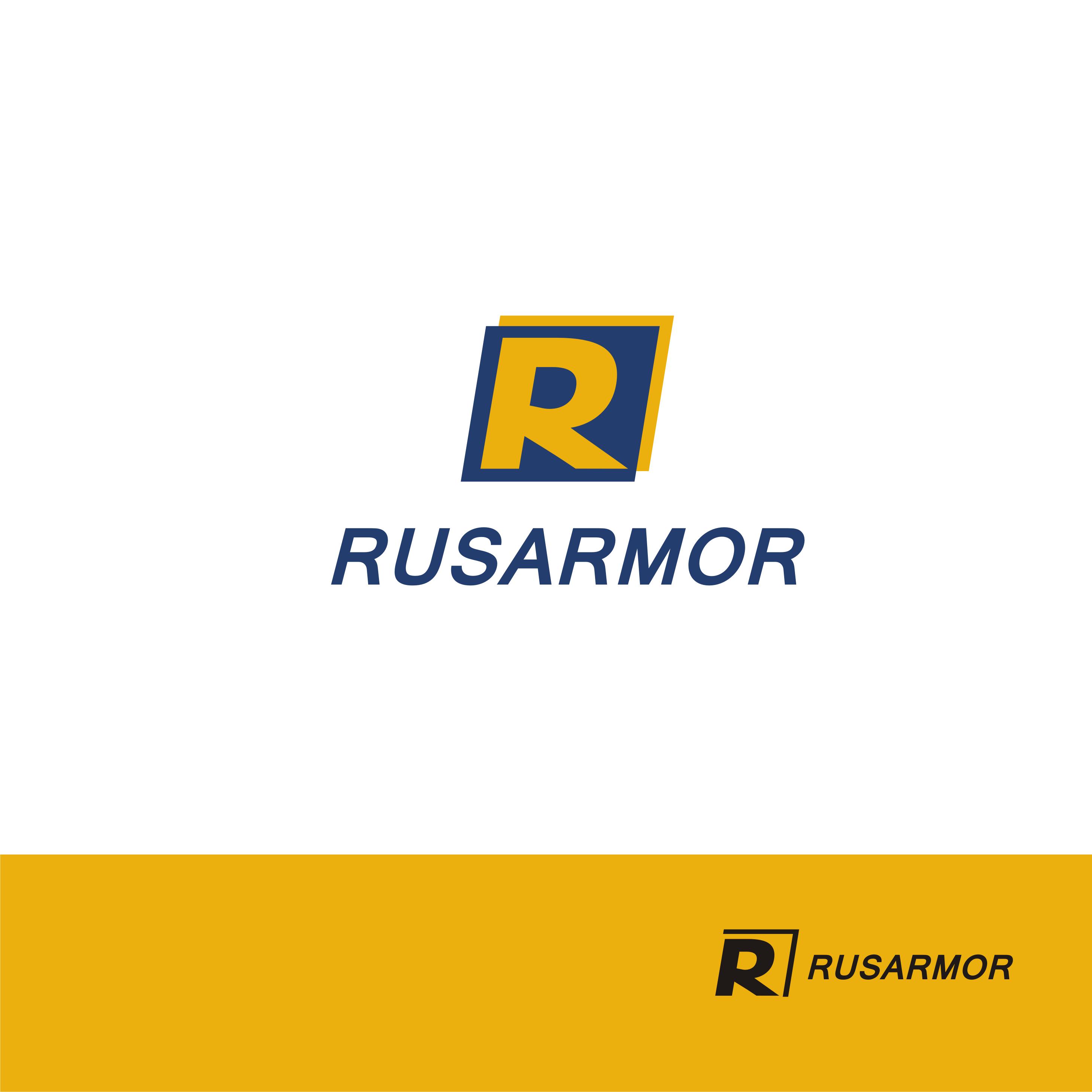 Разработка логотипа технологического стартапа РУСАРМОР фото f_0545a0ea2e7470bc.png