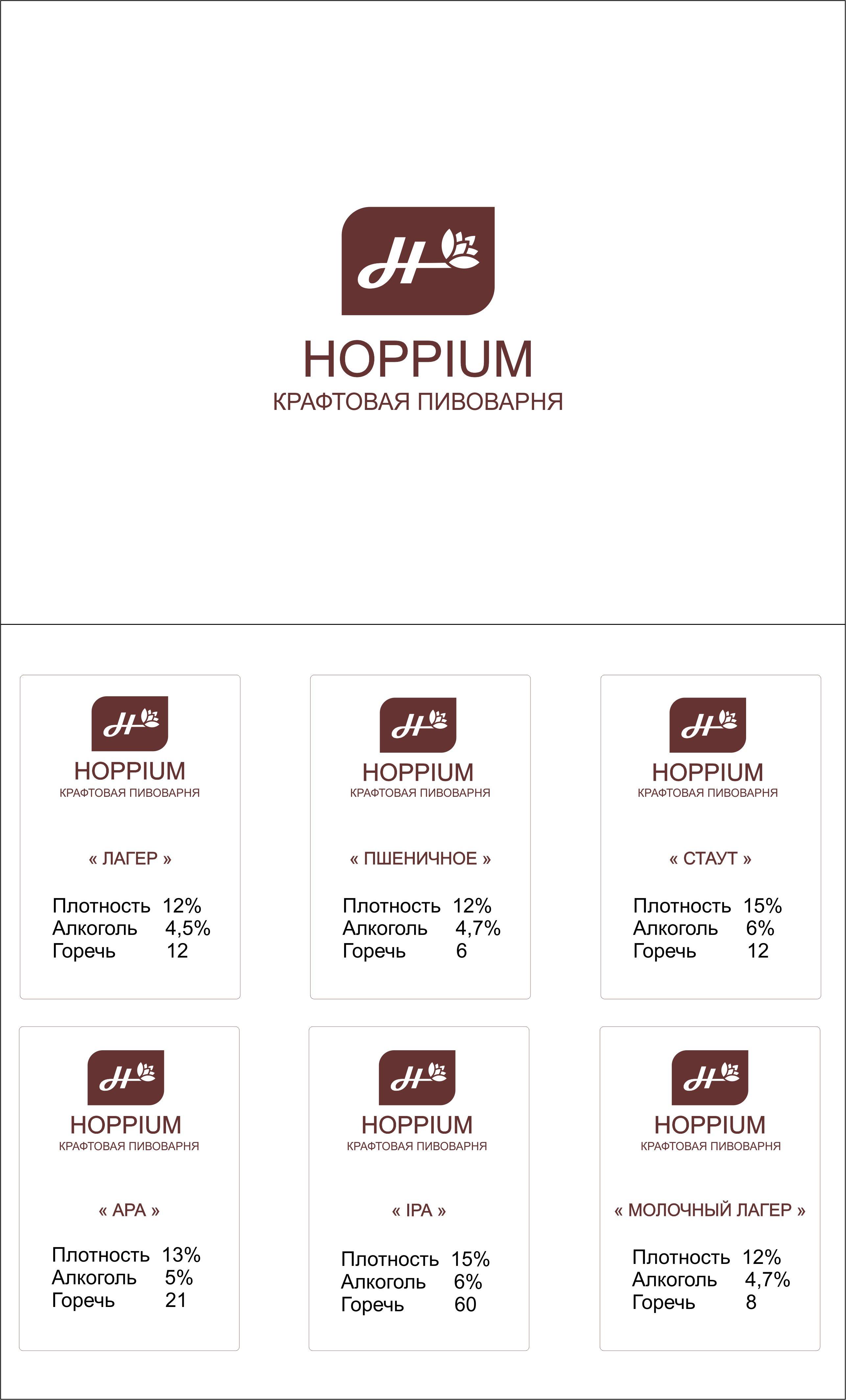 Логотип + Ценники для подмосковной крафтовой пивоварни фото f_6295dc71ec172549.jpg