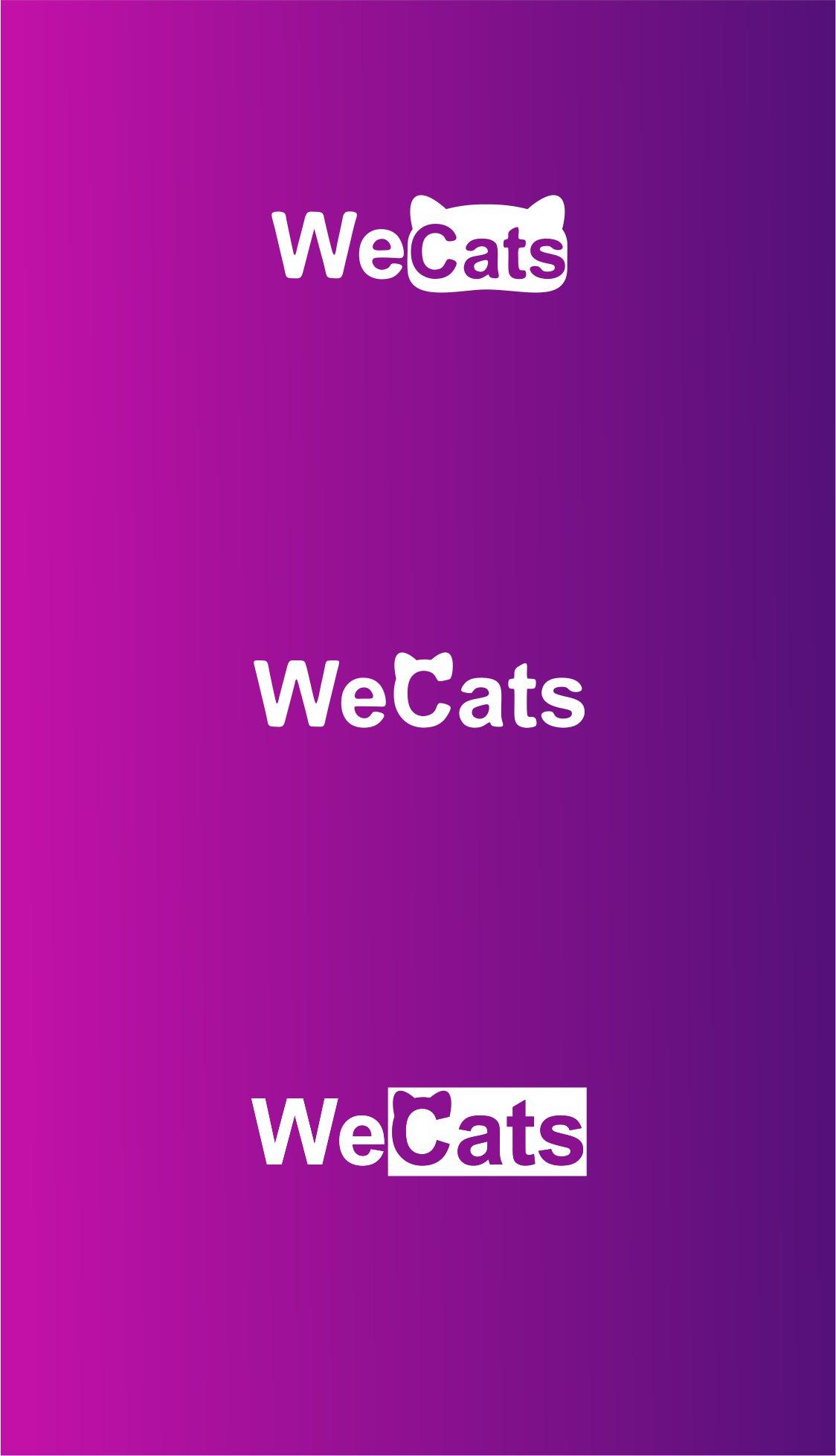 Создание логотипа WeCats фото f_8325f1a19bf18e1f.jpg