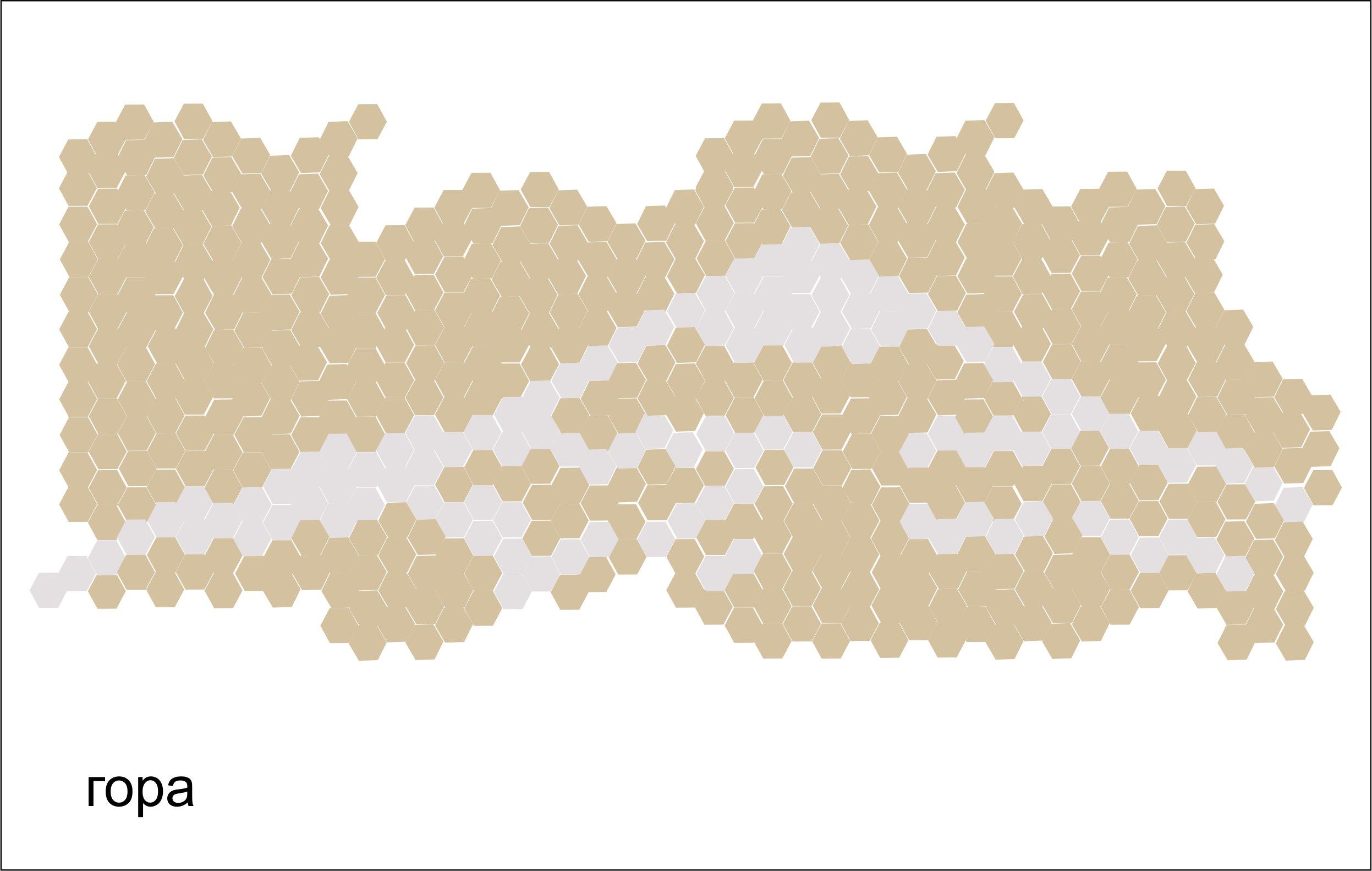 Дизайн кухонного фартука гексагональным пиксель-артом фото f_9925e2b59ddd5b1c.jpg