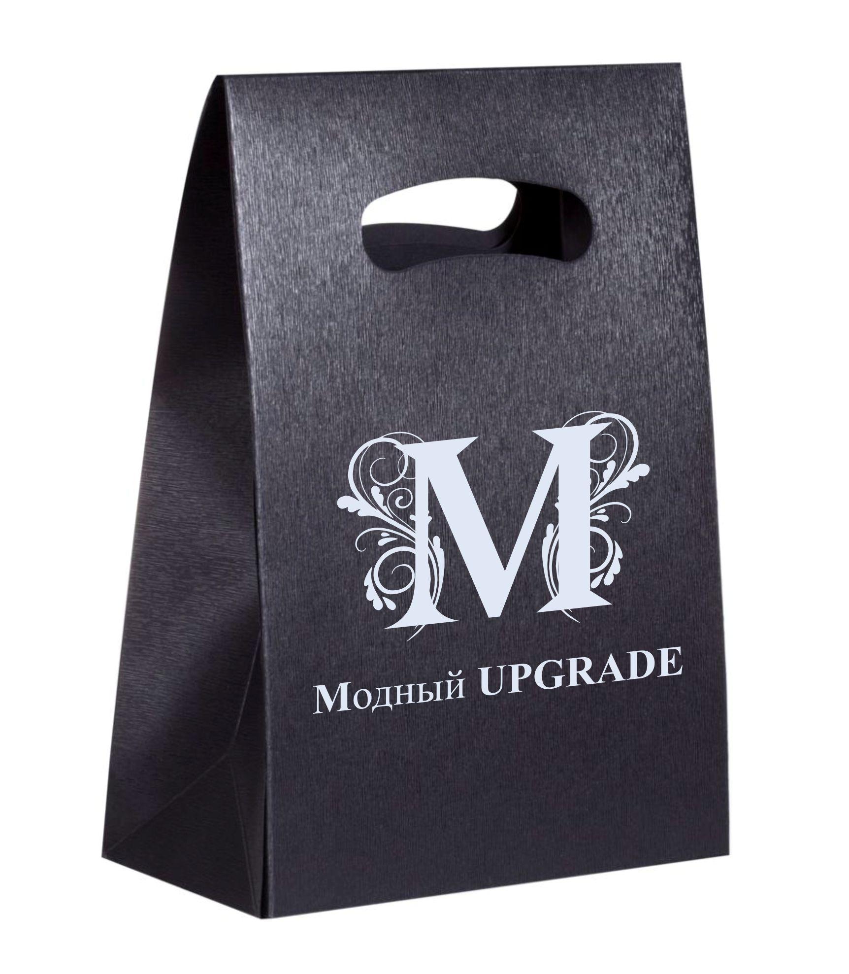 """Логотип интернет магазина """"Модный UPGRADE"""" фото f_04259418af8cbb78.jpg"""