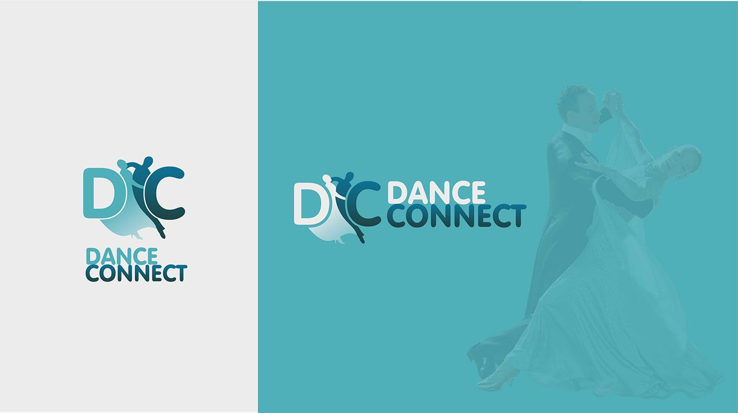 Разработка лого для спортивного портала www.danceconnect.ru фото f_5445b43b509899a2.jpg