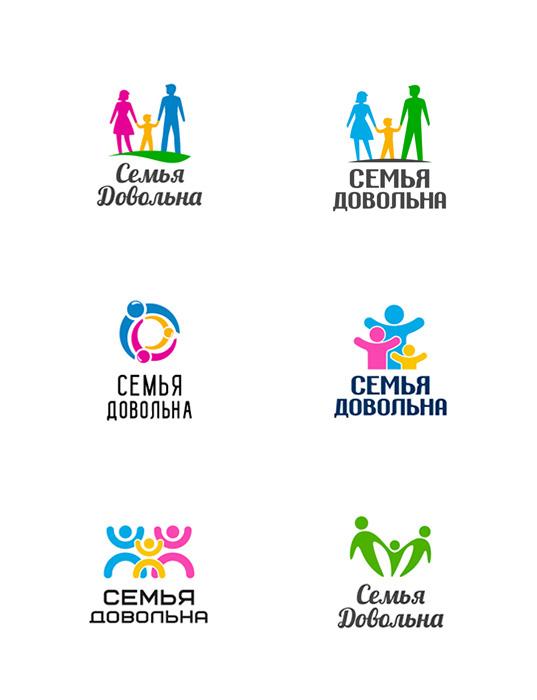 """Разработайте логотип для торговой марки """"Семья довольна"""" фото f_9795968280c81195.jpg"""