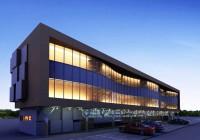 Архитектурное освещение БЦ г.Сургут