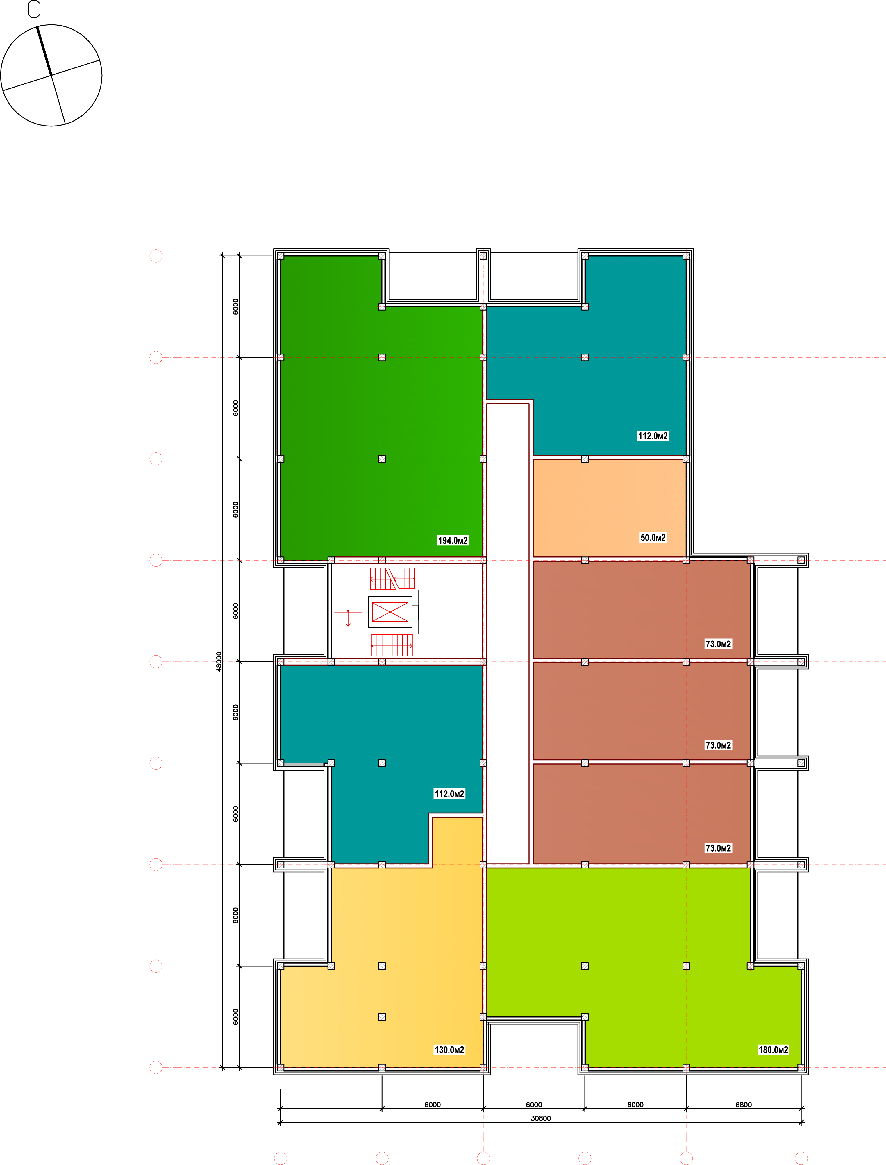Разработка типового этажа многоквартирного дома! фото f_5205c25d94c23816.jpg