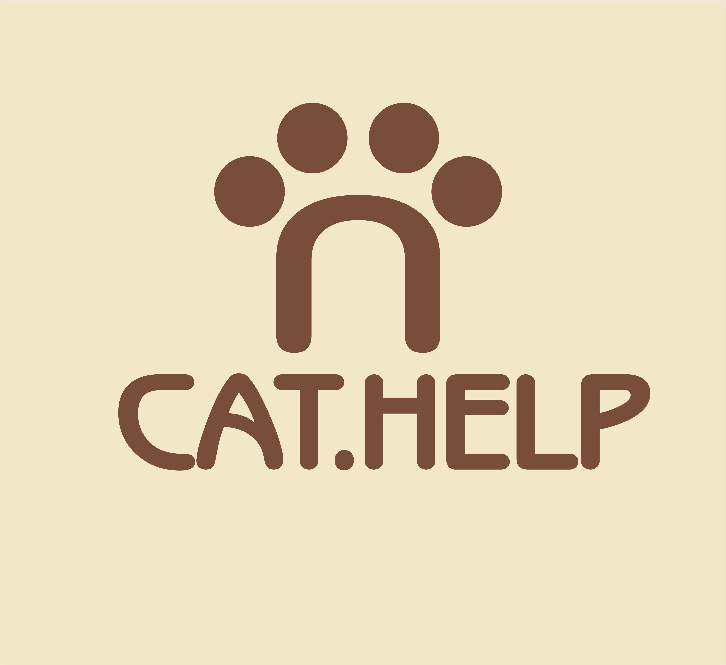 логотип для сайта и группы вк - cat.help фото f_67459d9cd3a46070.jpg