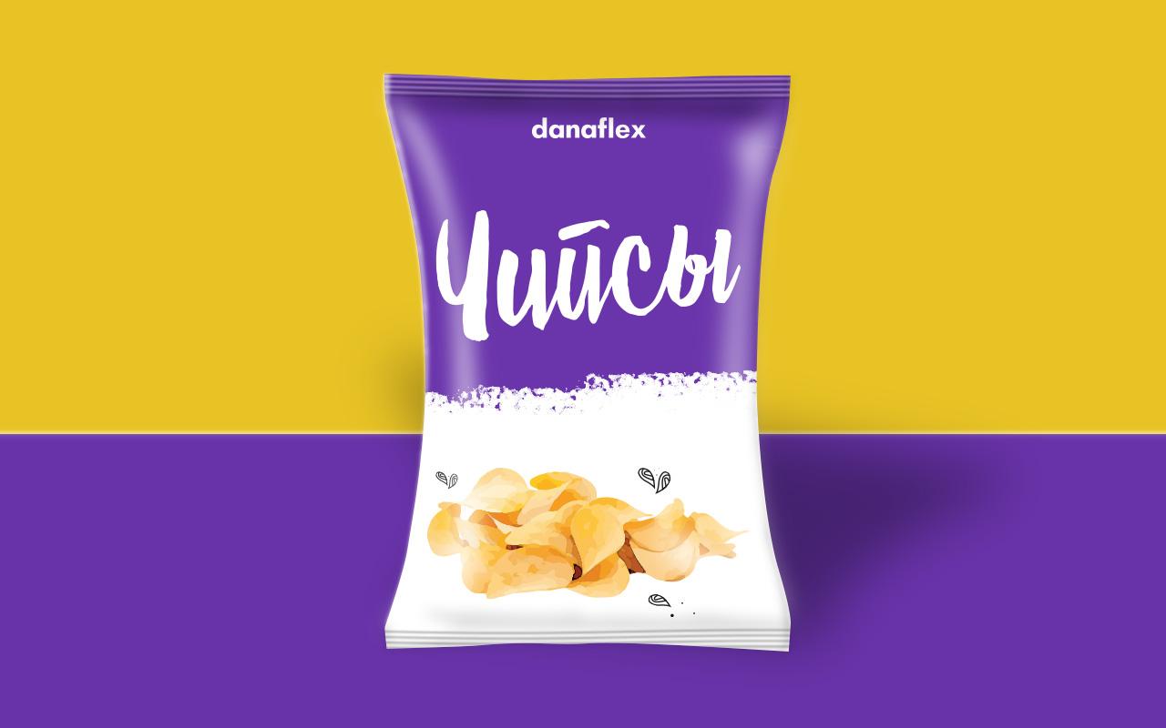 Концепт дизайна упаковки чипсов #2