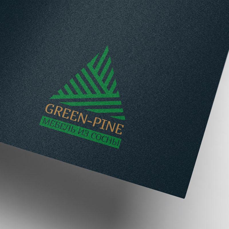 Green-Pine - Мебель из сосны (лого/айдентика)