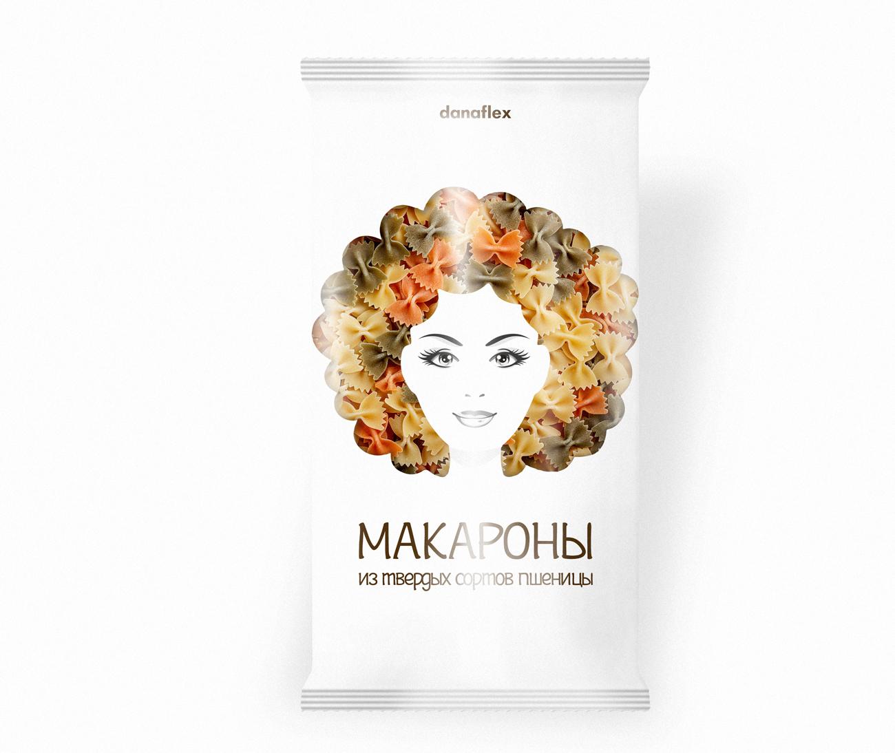 Концепт дизайна упаковок макаронных изделий #1