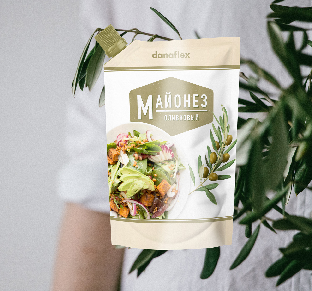 Концепт дизайна упаковок майонеза #1