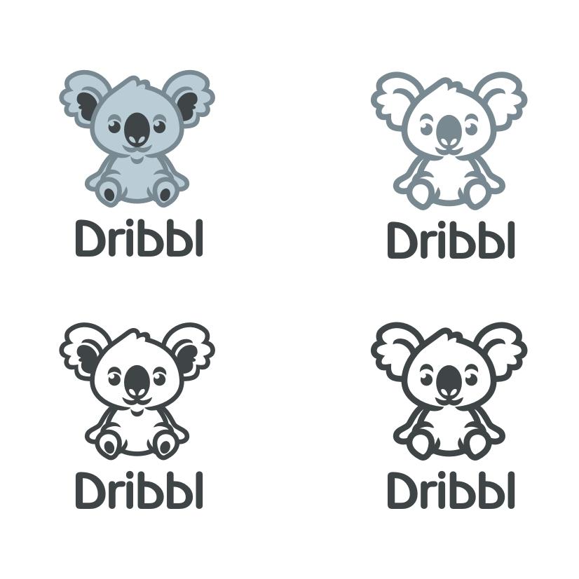 Разработка логотипа для сайта Dribbl.ru фото f_0695a9e8b39d5936.jpg
