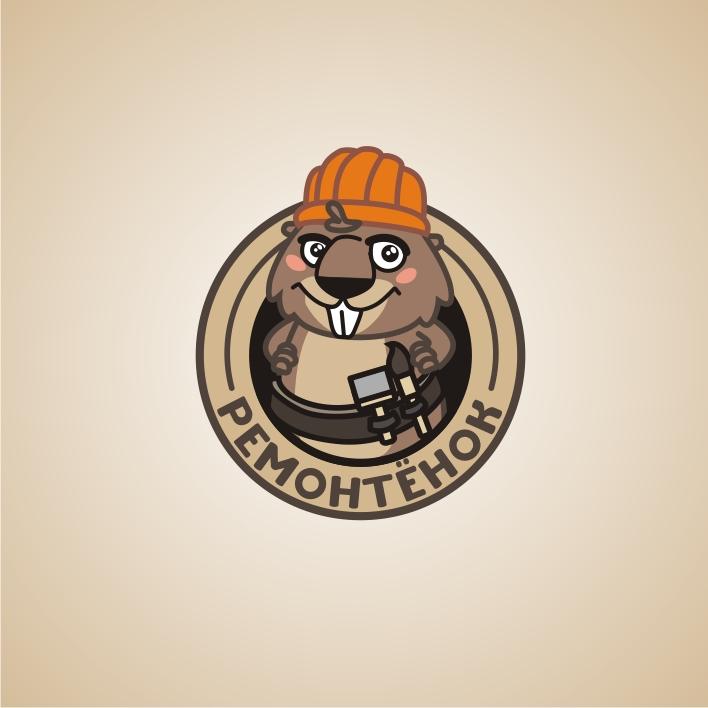 Ремонтёнок: логотип + брэндбук + фирменный стиль фото f_36759580887d071e.jpg