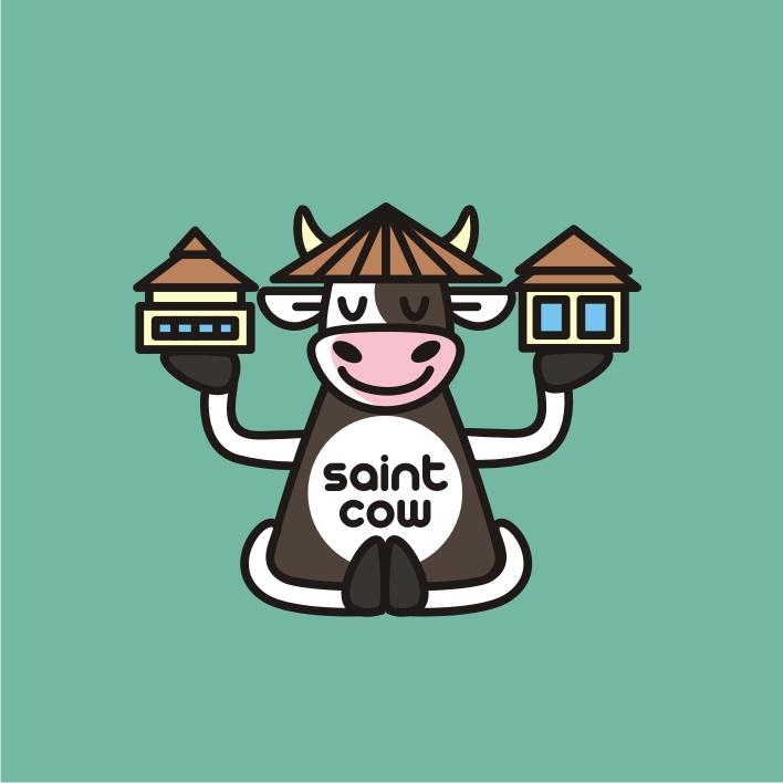 Фирменный стиль для компании Saint Cow фото f_59859c695221ebc9.jpg