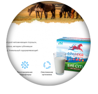 Landing page по продаже сухого кобыльего молока