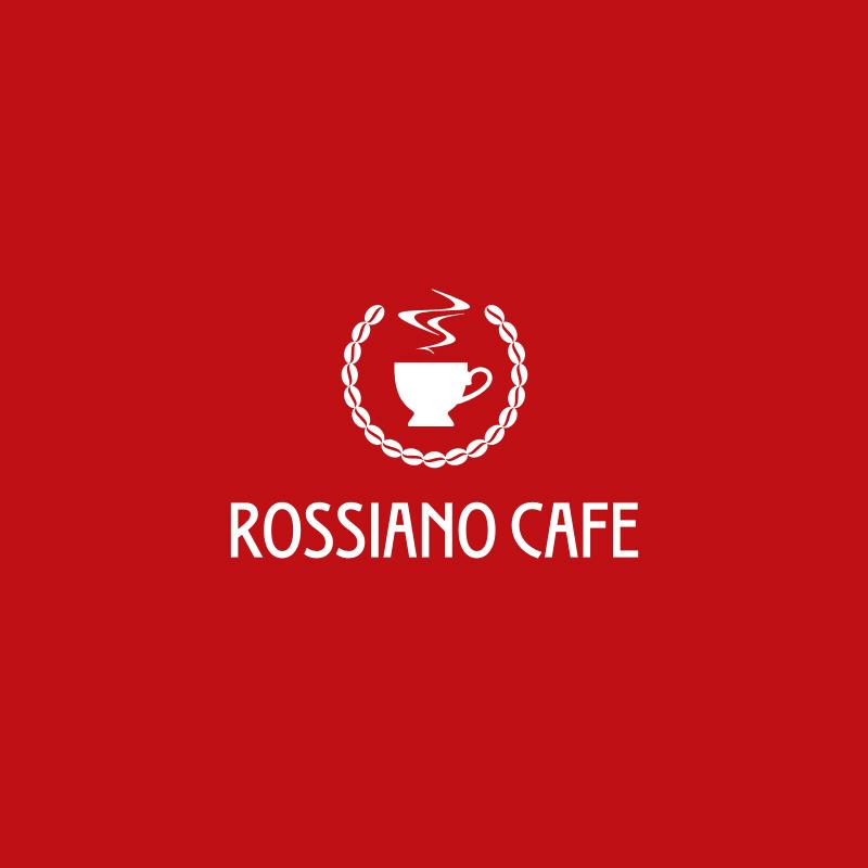 Логотип для кофейного бренда «Rossiano cafe». фото f_52457b780324d90b.jpg