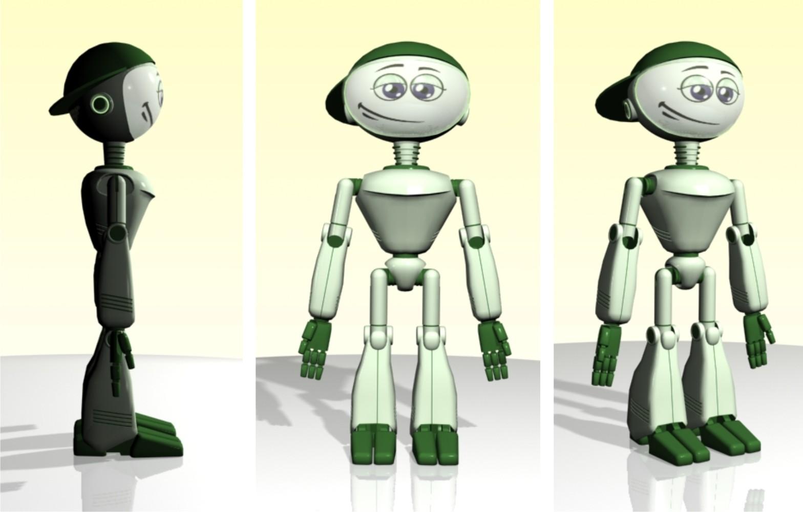 "Модель Робота - Ребёнка ""Роботёнок"" фото f_4b58329e80e29.jpg"