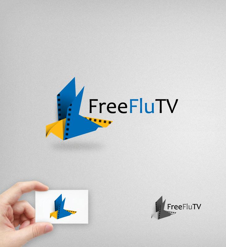 Логотип для общественного интернет-телевидения FreeFly фото f_4f9b1ab0108e5.jpg