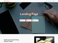 Лучший дизайн landing page