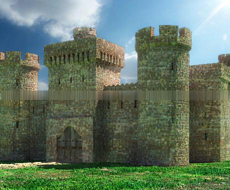 Крепость для интернет-игры