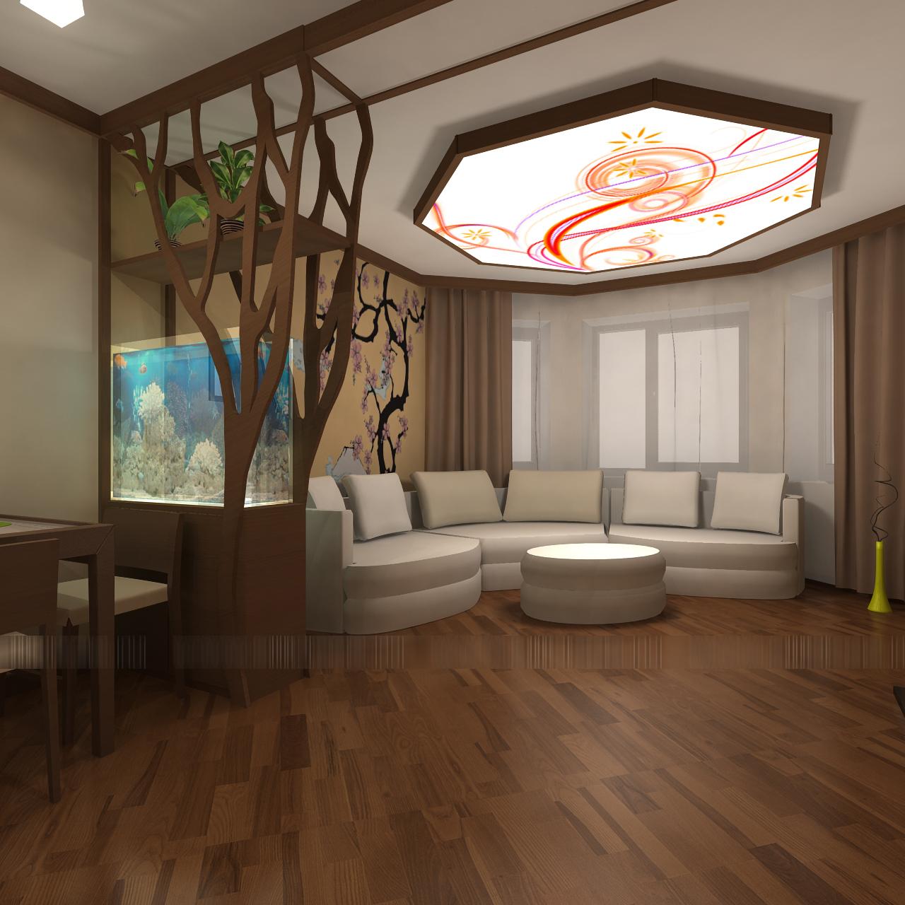 Виртуальный тур по 2-комнатной квартире