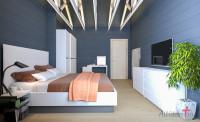 Спальня в доме из бруса | 16 м2 | Пермский край