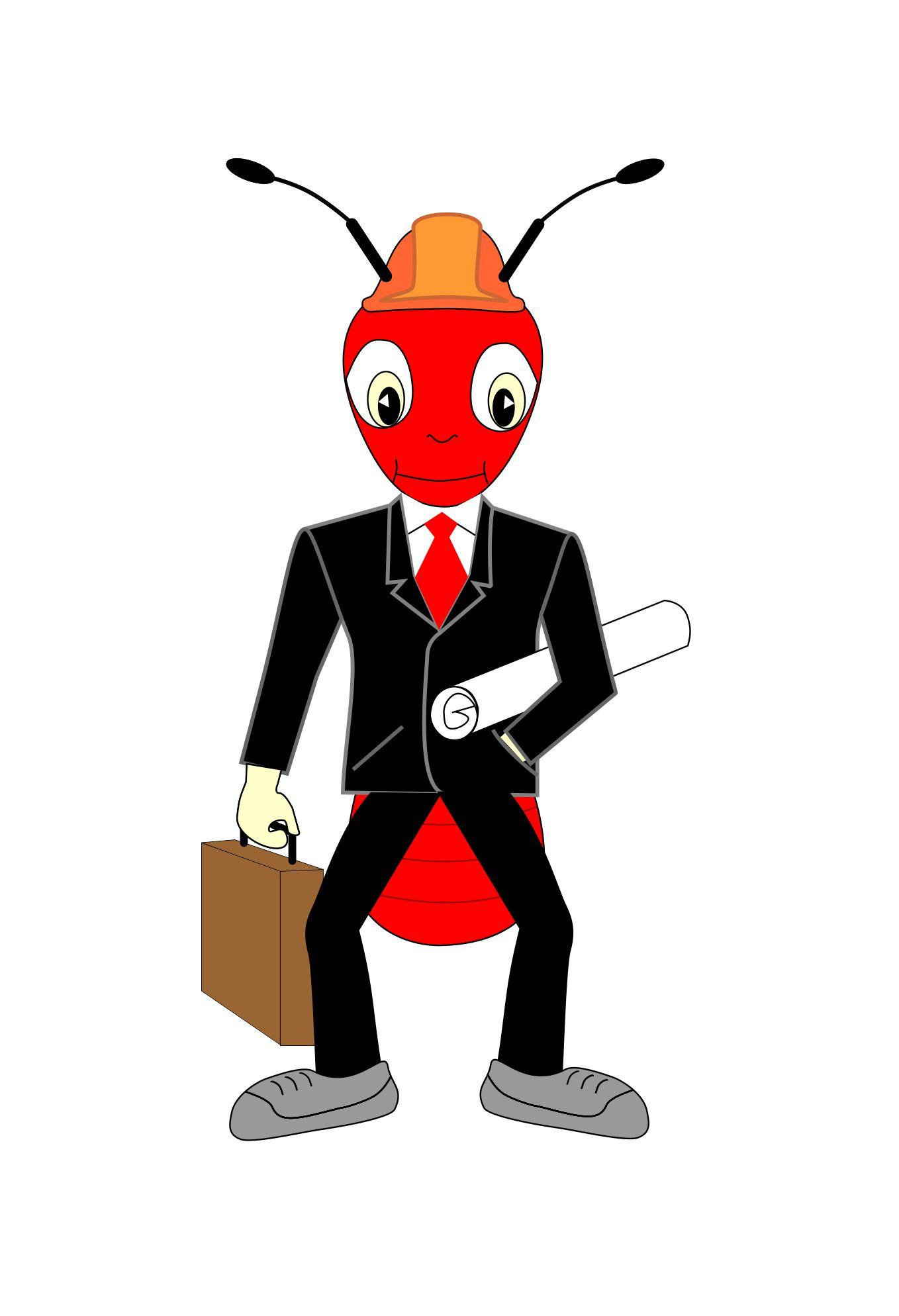 """Необходимо разработать дизайн персонажа """"Муравей"""" для сайта  фото f_2915774d9794c099.jpg"""