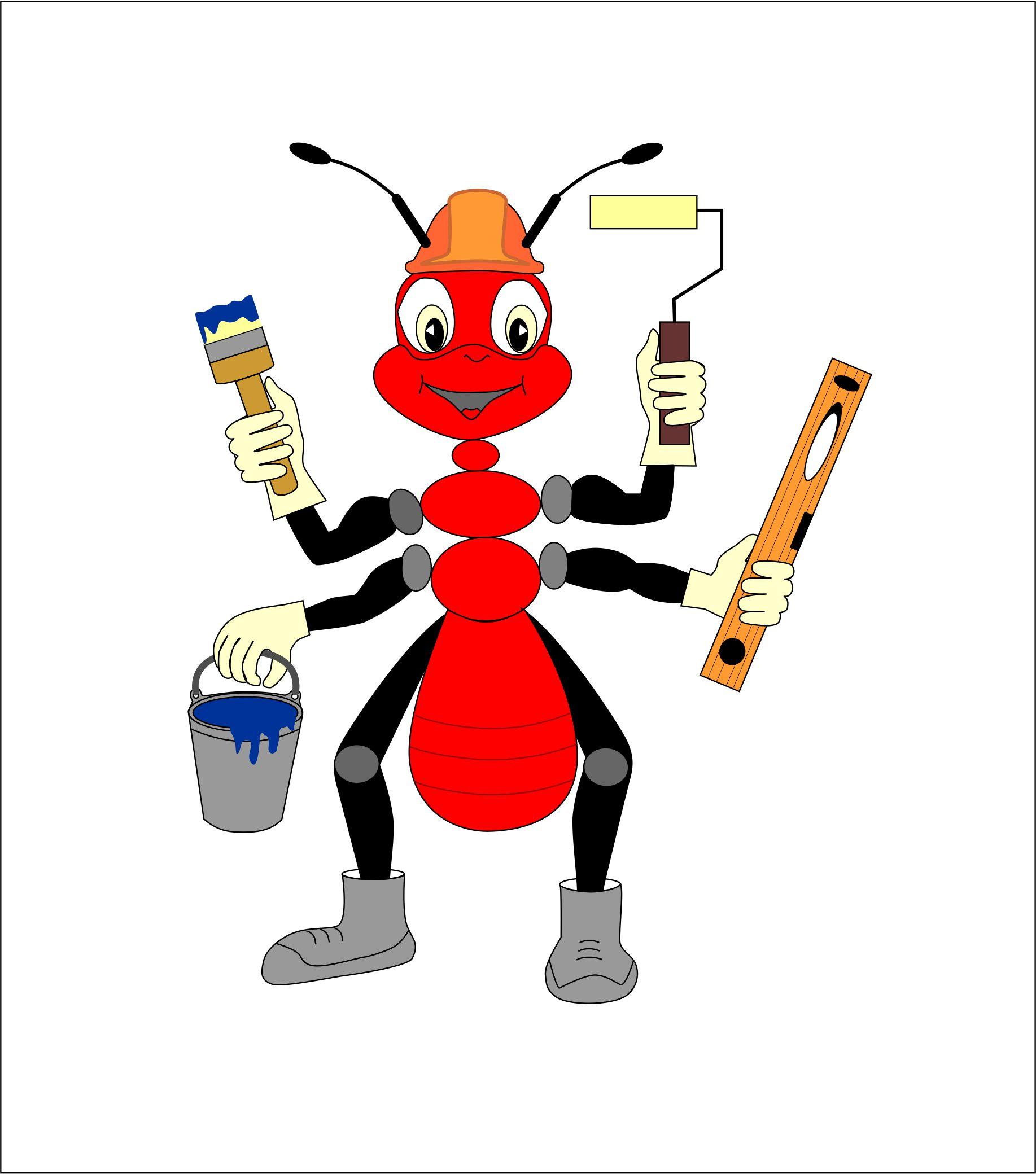 """Необходимо разработать дизайн персонажа """"Муравей"""" для сайта  фото f_6985773f529d0217.jpg"""