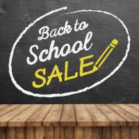 Школьная распродажа