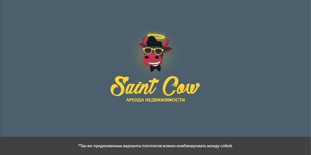 Фирменный стиль для компании Saint Cow фото f_19959b2d58273896.jpg