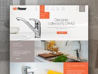 Дизайн сайта в современном европейском стиле!