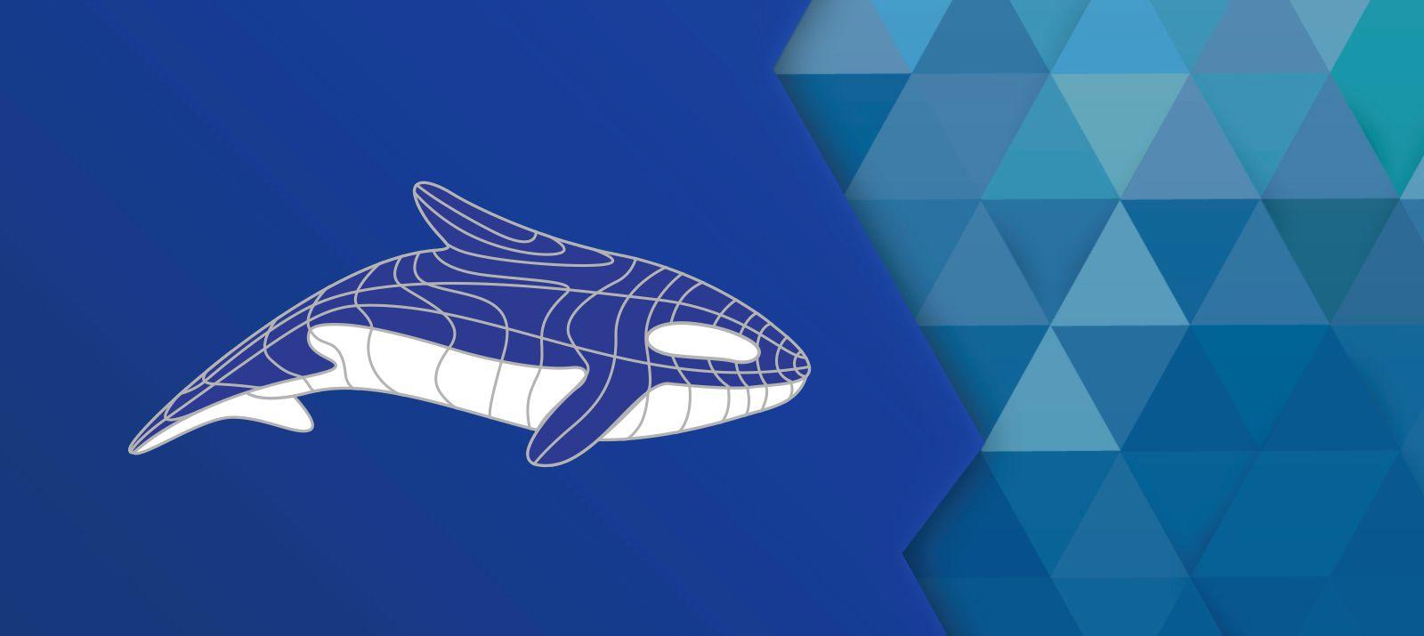 Разработка фирменного символа компании - касатки, НЕ ЛОГОТИП фото f_8335b0098f24f7ca.jpg